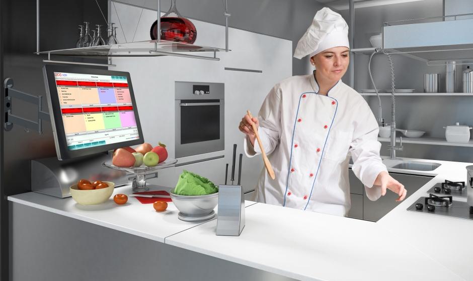 Kitchen display for restaurants